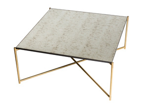 Iris-Square-Coffee-Table-Antiqued-Glass-With-Brass-Frame_Gillmore-Space-Limited_Treniq_0