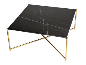 Iris-Square-Coffee-Table-Black-Marble-With-Brass-Frame_Gillmore-Space-Limited_Treniq_0