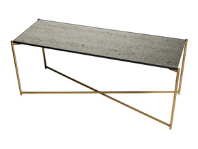 Iris-Large-Low-Console-Table-Antiqued-Glass-With-Brass-Frame_Gillmore-Space-Limited_Treniq_0