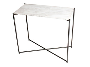Iris-Small-Console-Table-White-Marble-With-Gun-Metal-Frame_Gillmore-Space-Limited_Treniq_0
