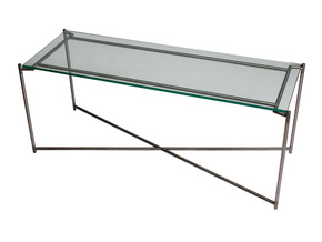 Iris-Large-Low-Console-Table-Clear-Glass-With-Gun-Metal-Frame_Gillmore-Space-Limited_Treniq_0