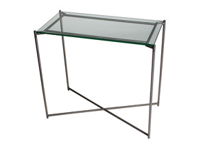 Iris-Small-Console-Table-Clear-Glass-With-Gun-Metal-Frame_Gillmore-Space-Limited_Treniq_0