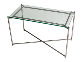 Iris-Rectangle-Side-Table-Clear-Glass-With-Gun-Metal-Frame_Gillmore-Space-Limited_Treniq_0