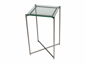 Iris-Square-Plant-Stand-Clear-Glass-With-Gun-Metal-Frame_Gillmore-Space-Limited_Treniq_0