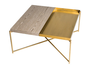 Iris-Square-Top-Coffee-Table-Weathered-Oak-With-Brass-Tray-And-Brass-Frame_Gillmore-Space-Limited_Treniq_0