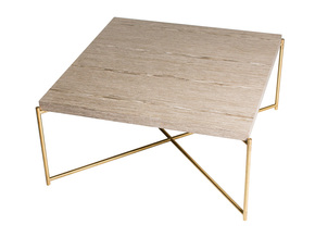 Iris-Square-Coffee-Table-Weathered-Oak-With-Brass-Frame_Gillmore-Space-Limited_Treniq_0