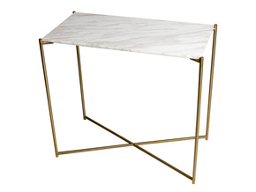 Iris-Small-Console-Table-White-Marble-With-Brass-Frame_Gillmore-Space-Limited_Treniq_0