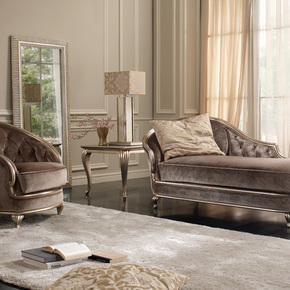 Eden Chaise Longue - Gold Confort - Treniq