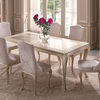 Eden dining table gold confort treniq 1