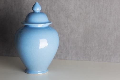 Azzurro temple jar small decorus boutique treniq 1 1513771479734