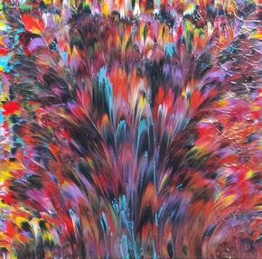 Tropical-Blaze-Ii_Alexandra-Romano-Art_Treniq_0