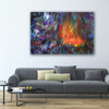 Wild fire  original abstract painting  alexandra romano art treniq 1 1513887697676