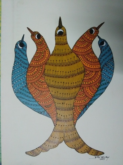 Gond art  vernssage treniq 1 1514129144631
