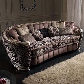 Glamour 4 Seat Sofa - Gold Confort - Treniq
