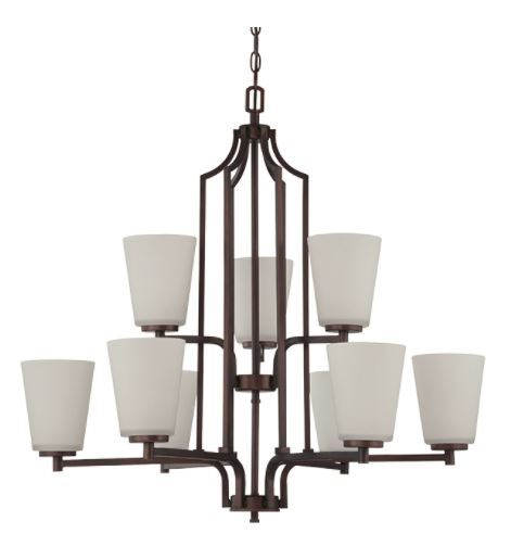 Brighton nine light 2 tier chandelier tl custom lighting treniq 1 1514335310435