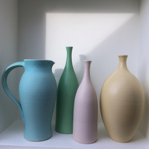 Oval bottle vase lucy burley ceramics treniq 1 1514556471832