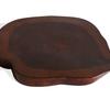 Pair of dark colored teak coasters avana africa treniq 1 1514645712445