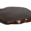 Pair of dark colored teak coasters avana africa treniq 1 1514645712465