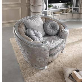 Glamour Armchair - Gold Confort - Treniq