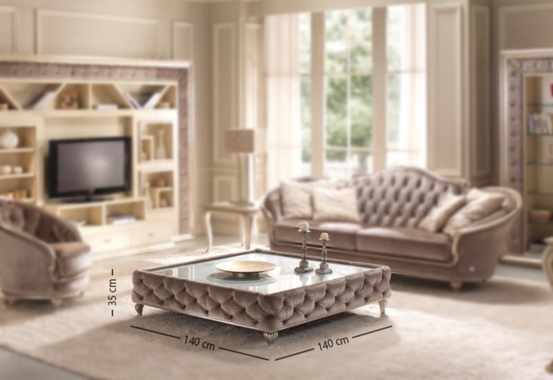 Eden coffee table gold confort treniq 3