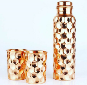 Copper-Bottle-With-Glass_Shan-International_Treniq_0