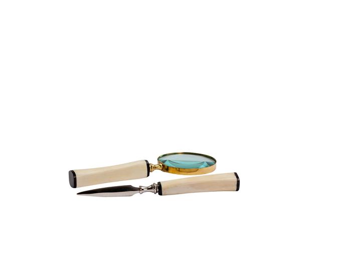 Bone handled magnifying glass jess latimer treniq 1 1515765588120