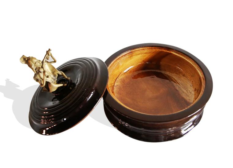 Black bread box with bronze man handle avana africa treniq 1 1515839082267