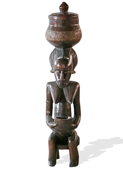 Traditional baule peau statue small avana africa treniq 1 1515840183481