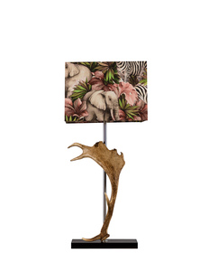 Deer-Horn-Lamp-With-Zebra-Print-Shade_Jess-Latimer_Treniq_0
