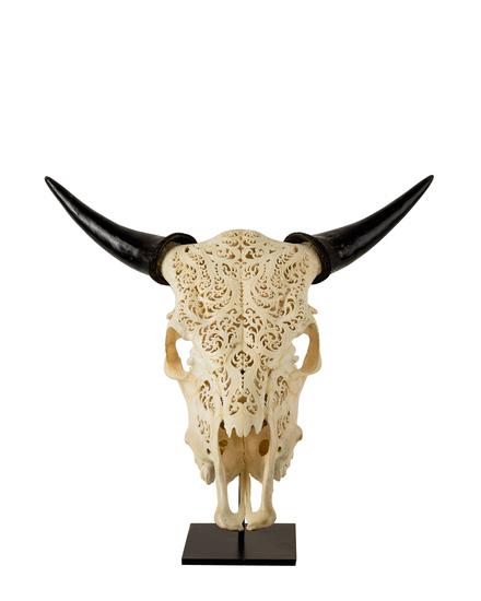 Decorative impala skull jess latimer treniq 1 1515985290451