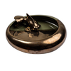 Decorative olive and bronze koi bowl jess latimer treniq 1 1515987272695