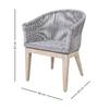 Loom armchair seven oceans designs treniq 5