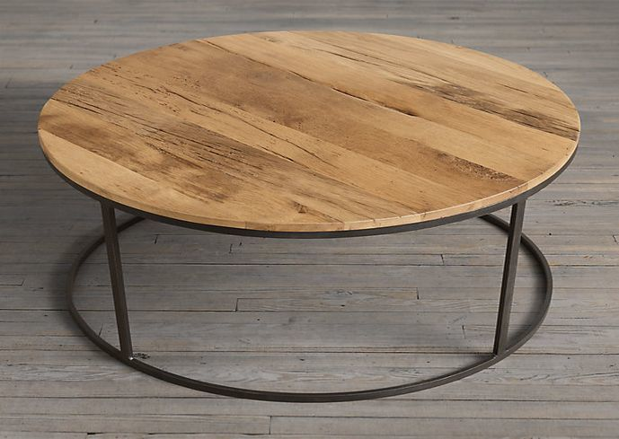 Reclaimed wood round coffee table  shakunt impex pvt. ltd. treniq 2 1516172773890