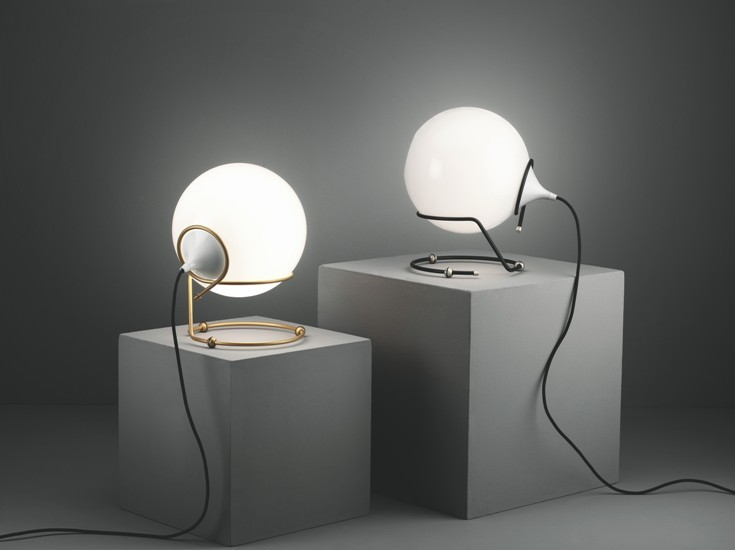 Up table lamp burnished with murano glass and dedicated led lightsource younique plus treniq 1 1516181565406