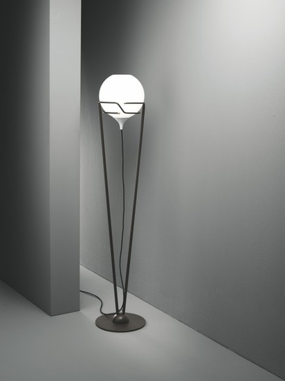Up floor lamp burnished with murano glass and dedicated led lightsource younique plus treniq 1 1516182671155