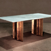 The metropolis marble and brass dining table by lind and almond  novocastrian treniq 1 1516187289258