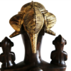 Senoufu maternity statue with 9 babies avana africa treniq 1 1516279619174