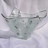 Vase clear with metal and oldplatinum 25 cm arteglass treniq 8 1516293433993