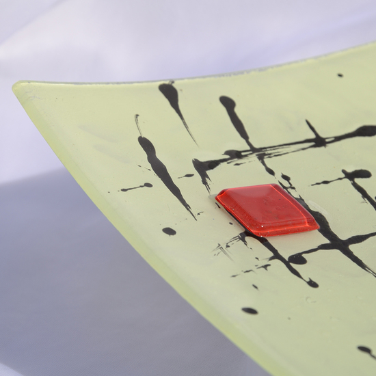 Bowl cream black 30x30 shallow arteglass treniq 6 1516293746002