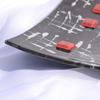 Bowl black white 20x20 shallow arteglass treniq 6 1516293793167