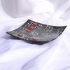 Bowl black white 20x20 shallow arteglass treniq 6 1516293793151