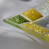 Bowl green yellow 16x16 plate arteglass treniq 6 1516293974785