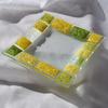 Bowl green yellow 16x16 plate arteglass treniq 6 1516293974765