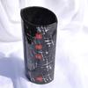 Vase black white 30 cm rounded arteglass treniq 7 1516294874789