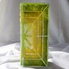 Vase green yellow 30 cm square arteglass treniq 5 1516295084229
