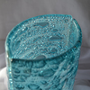 Vase turquoise 30 cm rounded arteglass treniq 6 1516295250797