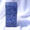 Vase dark blue 30 cm square arteglass treniq 8 1516295293893