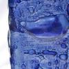 Vase dark blue 30 cm square arteglass treniq 8 1516295293955