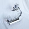 Candlestick %22c%22 stainless steel   clear glass arteglass treniq 3 1516295543232