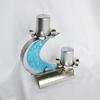 Candlestick %22c%22 stainless steel   turquoise glass arteglass treniq 3 1516295754800
